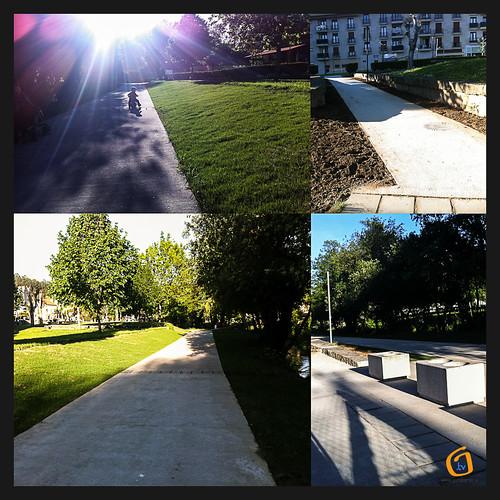 """""""A Coelleira"""" vai parecendo un parque"""