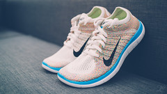Nike Womens Free 4.0 Flyknit Multi-Color (dtchan) Tags: vancouver zeiss 35mm shoes sony sneakers nike 40 limitededition multicolor rx1 flyknit