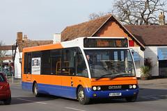 Centrebus FJ08 MBF - Sandy (Neil Pulling) Tags: bus town sandy bedfordshire optaresolo centrebus eastbedfordshire centralbedfordshire fj08mbf centrebus304
