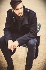 _DSC8694 (soniadiazfoto) Tags: barcelona street portrait man fashion de beard retrato bcn moda style editorial casual miranda ebro burgos bearded hombre tatto tattos lookbook