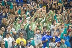UNCW MEN'S BASKETBALL HOMECOMING VS NORTHEASTERN (UNCW Alumni) Tags: basketball homecoming mens fans valentinesday northeastern february14 caa 2015 uncw traskcoliseum