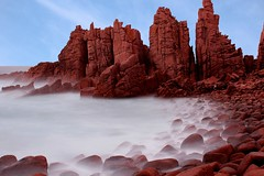 The Pinncacles - In Colour (DaveFlker) Tags: seascape island long exposure phillip pinncacles
