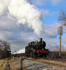 Off the Viaduct (Duck 1966) Tags: train goods steam swithland gcr 7820 dinmoremanor timelineevents
