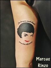 (RinzoTattoo) Tags: tattoo tatuagem amliepoulain tatuagens tatuagio tattoofeminino tattooemsbc tatuagememsbc tatuagemdefilme tattooamliepoulain tatuagemamliepoulain