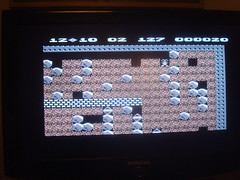 C64 nostalgia (sebilden) Tags: game vintage commodore c64 homecomputer boulderdash sebilden