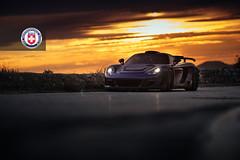 Porsche Carrera GT with HRE P104 in Satin Black (22) (HRE Wheels) Tags: black porsche mirage gt carrera carreragt hre cgt gemballa p104