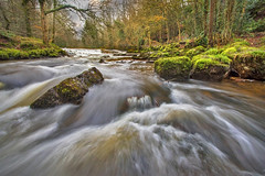 Cascades on the Cusher (Alan10eden) Tags: longexposure trees water forest canon river landscape flow waterfall moss woods rocks whitewater stream glen northernireland flowing cascade milky 1022mm etheral ulster tandragee countyarmagh 70d clareglen cusher alanhopps