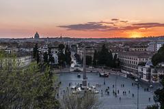 Pincio (Francisco Esteve Herrero) Tags: sunset italy roma atardecer italia pincio 2016 pacoesteveherrero franciscoesteveherrero nikond5300