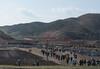 Travaux collectifs le long de la route vers Pyongyang (jonathanung@ymail.com) Tags: lumix asia korea asie kp nord northkorea corée dprk cm1 koryo coréedunord insidenorthkorea républiquepopulairedémocratiquedecorée rpdc northhwanghae lumixcm1