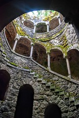 Quinta da Regaleira (Weekend Wayfarers) Tags: travel travelling portugal stone architecture stairs spiral outside outdoors moss travels europe arch stones exploring travellers quintadaregaleira sintra gothic tunnel arches travellings unesco cobblestones adventure cobblestone explore caves staircase castelo grotto cave mansion traveling tunnels grottoes staircases travelers monteiro travelblog portuguesa spiralstaircase iberia stonesteps grottos travelphotography stonestep portugus stonestaircase travelphotographer travelblogs travelblogger travelings travelbloggers travelphotographers travelblogging stonestaircases weekendwayfarers