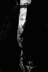 Breitachklamm 4 (donlunzo16) Tags: bridge people bw white 3 black mountains film water stone wall river lens bavaria nikon df raw nef natur x pack filter nd walls nikkor 58mm vignette afs oberstdorf f114 breitachklamm vsco d