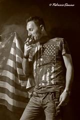 ritratto (sanino fabrizio) Tags: portrait america canon e bianco ritratto nero fumo bandiera seppia sigaro 550d smooke