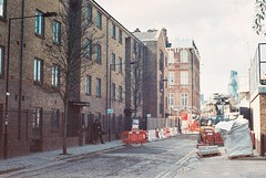 Buck's Row (goodfella2459) Tags: color colour london history film analog 35mm lens jack 50mm nikon mary row crime ann 100 af nikkor whitechapel bucks milf f4 nichols implosion ripper c41 f14d adox
