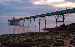 Clevedon Pier Nikon D610 (technodean2000) Tags: uk sea england blackandwhite seascape building water monochrome architecture pier nikon outdoor sigma end around serene 1020mm clevedon lightroom inghilterra d610 gianmarco giudici unito regno d5200