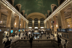 Grand Central Terminal, NYC (tiemenglastra) Tags: nyc newyorkcity wideangle trains trainstation grandcentralstation grandcentralterminal uwa