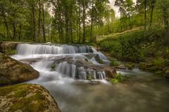 AMP_6229_2 (Amparo Hervella) Tags: longexposure espaa tree water ro river landscape waterfall spain nikon rbol vila largaexposicin elarenal filtrond d7000 nikond7000