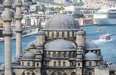 yeni cami (eb78) Tags: istanbul turkey middleeast fatih architecture newmosque eminonu travel