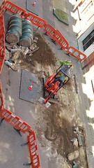 20160609_141812 (Carol B London) Tags: tarmac courtyard charcoal e1 wedge sgc ids stepney londone1 stepneygreen newlayout newsurface charcoalbricks steneygreencourt wedgeengineering