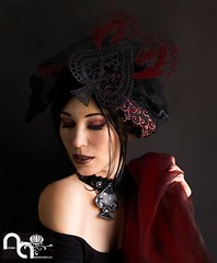 Hats & accessories by Natalia Alexandrova (Accessories by Natalia Alexandrova) Tags: horses hat necklace handmade hats redhat horseracing elegant hairstyle exclusive element headband headdress elegance hairornament designerhat uniquenecklace designerhats handmadeaccessories exclusivedesign accessoriesforhair designernecklace uniquehat exclusiveaccessories lighthat designhat gothichat nataliaalexandrova exclusivedecoration wwwfbcomnataliaalexandrovarsa bynataliaalexandrova exclusivedecorationdecorationonneckperforatedfabric exclusivedecorationdecorationonneckperforatedfabricsilverjewelry hatfromperforatedfabric desighernataliaalexandrova russiandesignernataliaalexandrova designerhandbagfromfabric designednecklace