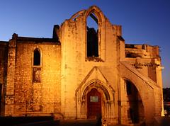 Carmo convent, Lisbon (kalakeli) Tags: portugal nightshot lisbon may mai nightshots bluehour lissabon blauestunde 2016 nachtaufnahmen