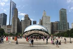 Cloud Gate Chicago (dirklie65) Tags: chicago illinois bean cloudgate