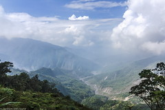 View from trail of Mt. North Dawu, Taiwan. (Evo-PlayLoud) Tags: trees sky cloud mountain mountains tree green clouds canon landscape scenery bluesky tokina   pingtung    550d t116  1116mm tokina1116mmf28 canon550d canoneos550d cloudsstormssunsetssunrises mtnorthdawu