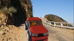 Route (Daniel V 75) Tags: wallpaper art car sport speed star photo idiot lego 4x4 ferrari voiture creation porsche wars paysage tuning base luxe berline moc