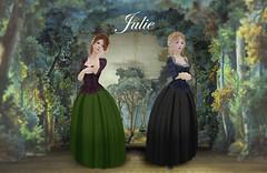 Julie AD (Sofia von Essen) Tags: century marketing julie ad 18th advertisement sl secondlife rp 1776 cde vsl mixmatch
