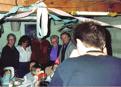 Dans BDay 1991 07 (tineb13) Tags: birthday friends party dan mike evans ray evelyn alma jim melissa pop kelly 1991 markel starr