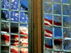 Reflections  (chromazone) Tags: windows usa reflection art photography flag memorialday