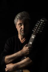 Autoretrato / Selfportrait (pasotraspaso. Jesus Solana Fine Art Photography) Tags: selfportrait guitar autoretrato acoustic ibanez 12string guitarr acustica