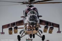 Fear (NTM 2016) (Ignacio Ferre) Tags: airplane nikon fighter aircraft military tiger helicopter avin tigre hind nato helicptero otan tigermeet czechairforce milmi35 milmi35hind