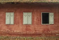 0347 Windows 2016 (Hrvoje Simich - gaZZda) Tags: windows window open closed red house building brick ivandvor croatia nikond200 nikon sigma17702845 hrvojesimich gazzda