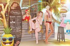 Summer Colada (cerezachan) Tags: summerfest kawaii kawaiiproject imeka loveydovey cosmeticfair chezmoi treschic tmd dura intrigueco etham katatonik unkindness