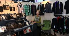 Waka Ozawa: Apparel & Accessories Created from Vintage Kimonos & Obis (beppesabatini) Tags: california richmond bayarea artsandcrafts kpfa craftsfair artsfair cranewaypavilion 941kpfa 2ndannualkpfasummerartsfair2016 kpfasummerartsfair