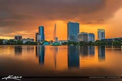 Lake Eola Fountain Orlando Florida (Captain Kimo) Tags: fountain orlando florida lakeeola orangecounty downtownorlando centralflorida hdrphotography lakeeolafountain captainkimo lovefl aurorahdr