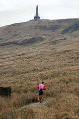 Stoodley Pike (Scott Leach) Tags: bridge marathon running pike ultra hebden fell haworth hobble stoodley