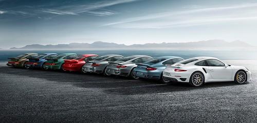 Porsche 911 Turbo 40-летний юбилей