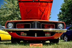 Road_Apples_067_DSC_2694 (Nomad Joe) Tags: summer usa cars plymouth madison classics cuda wi barracuda 1973 carshow vfw saturdayinthepark roadapples