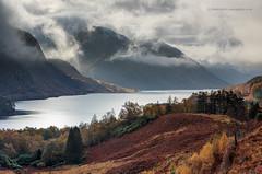 Loch Shiel (calderdalefoto) Tags: scotland highland uk unitedkingdom britain scottish highlands loch shiel glenfinnan autumn november trees mountains dramatic cloudy misty mist