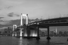 rainbow bridge june 2016 (whitemt1) Tags: zeiss tokyo odaiba nightview tokyobay rainbowbridge loxia250