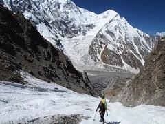 047-Pujant el corredor (Hlias Millerioux) (ferran_latorre) Tags: nangaparbat pakistan esqudemuntanya alpinism alpinisme ferranlatorre cat14x8000 expedition