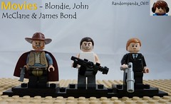 The 60's, The 80's and the 00's (Random_Panda) Tags: show film television movie tv lego fig films character figure movies shows characters minifig minifigs figures figs minifigure minifigures
