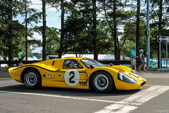 1967 Ford GT40 Mk IV J6 [EXPLORED] (Rivitography) Tags: old classic ford car yellow racecar canon vintage rebel automobile gm antique connecticut greenwich adobe 1967 t3 expensive supercar lemans lightroom gt40 mkiv generalmotors 2016 j6 rivitography