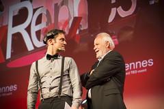 Talks TEDxRennes 2016  Jérôme Bonaldi Sébastien Chambres