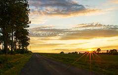 Double Sunset (Matt Champlin) Tags: sunset summer home nature beautiful rural canon landscape peace farm country farming peaceful cny fields upstatenewyork friday 4thofjuly tgif 4thofjulyweekend dji djiphantom4