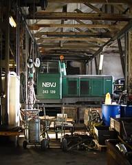 NBVJ, lokverkstaden (Michael Erhardsson) Tags: nora 139 interir verkstad 2013 nbvj arbetsplats lokomotor z43