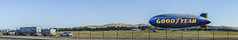 goodyear blimp panorama (pbo31) Tags: california panorama color field basketball june spring airport support nikon large finals bayarea blimp warriors eastbay livermore nba stitched goodyear municipal alamedacounty 2016 boury pbo31 d810