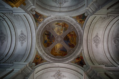 Ceiling paintings in churches and castles are often beautiful art (Olof Virdhall) Tags: art church canon painting artistic ceiling eos5 stocholm mkiii