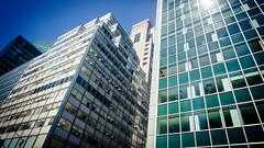 Steel and Glass (Jeffrey) Tags: nyc newyorkcity newyork streets architecture buildings design manhattan midtown parkavenue midtownmanhattan